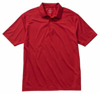 Edwards Garment Men's Casual Sporty Three Button Polyester Polo Shirt. 1516