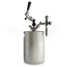 Mangrove Jacks Mini Keg 5 Litre With Tap And Charger Home Brew Beer Dispenser