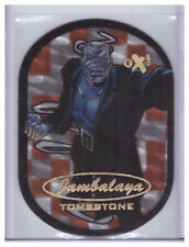2017 Fleer Ultra Spider-Man TOMBSTONE 5 of 30 JAMBALAYA Upper Deck Marvel RARE