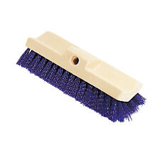 Rubbermaid Commercial Bi-Level Deck Scrub Brush Polypropylene Fibers 10 Plastic