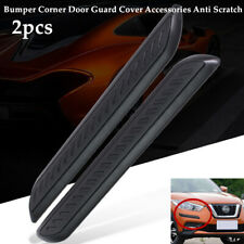 2×Car Bumper Corner Door Guard Cover Accessories Anti Scratch Protector Sticker