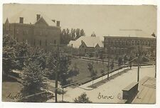 RPPC View GROVE CITY PA Vintage Mercer County Pennsylvania Real Photo Postcard