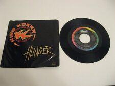 """King Kobra hunger - 45 Record Vinyl Album 7"""""""