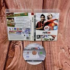 Ps3 video Game Fifa 09 Football sony playstation sports in case players