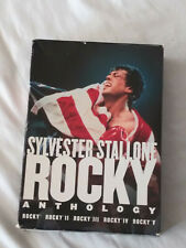 The Rocky Anthology: Sylvester Stallone (Dvd, 2006, 5-Disc Set) Like New~Wow~