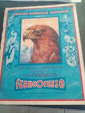 ALBUM FRANCORUSSE N°2 OISEAUX ET PAPILLONS complet