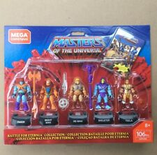 Mega Construx Masters Of The Universe Battle for Eternia 5 Pack He-Man Skeletor