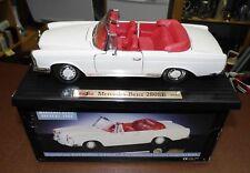 1:18 Model: Maisto Mercedes-Benz 280SE - 1966 Beige - Rot  neuwertig in OVP