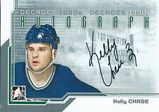 (HCW) 2013-14 ITG Decades 1990's KELLY CHASE Autograph Auto In The Game 01359