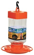 FIRST NATURE LARGE 32 oz BRIGHT ORANGE ORIOLE FEEDER, #3088, MADE IN USA      dm