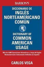 Diccionario de Ingles norteamericano comun: Dictionary of Common Ameri-ExLibrary