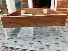 Thorens TD 160 165 166 145 146 147 Walnut plinth & 18mm Baseboard Kit#12