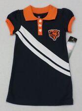 NFL Chicago Bears Toddler Girls Navy Polo Dress Size 3T