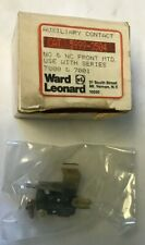 WARD LEONARD 5999-3504 AUXILIARY CONTACT NO&NC FRONT MTD. FOR SER.7000&7001