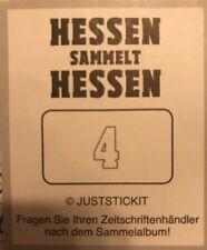 Hessen sammelt Hessen Sticker - 10 Stück Aussuchen
