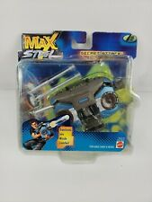 Mattel Max Steel Secret Attack Boombox Action Figure New in Box