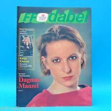 DDR FF-Dabei 15-1987 / 06.-12.04. Zeitschrift - Katja Ebstein Jörg Hindemith