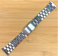 Stelux Stainless Steel Watch Bracelet 7406 18-22mm lug width 160mm long NOS