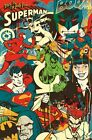 DC COMIC BOOK ART POSTER ~ THROWBACK 22x34 Comics Batman Flash Joker Superman