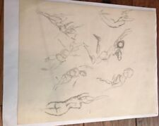 Frank Frazetta Original Sketch