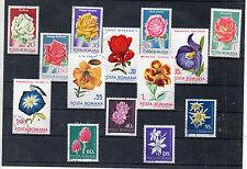 Rumania Flores Valores del año 1970-72 (CR-856)
