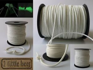 Rope Glow in the dark Strong Cord White Paracord 3/7/9 Luminous Outdoors