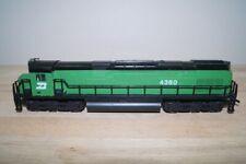 Ho Mehano Ahm US Diesel Locomotive Alco Century N°628 Der Burlington Northern