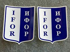 2X MILITARY ARMY Land Rover IFOR Decals