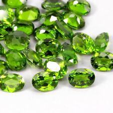 Lot de 27 Diopsides Chromifère,taille ovale/4,77 carats