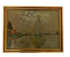 Vintage Framed Print 'Claude Monet' Medici Society Limited