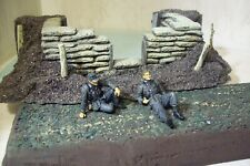 dragon models 1/35 scale germans at rest pro painted set of 2