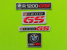 BMW GS R1200 KIT 4 PATCH TOPPE RICAMATE TERMOADESIVE
