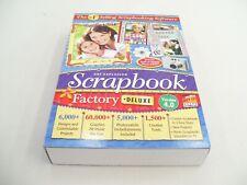 ART EXPLOSION SCRAPBOOK SOFTWARE FACTORY DELUXE V4 SCRAPBOOKING SCRAP BOOK