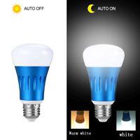 LED Sensor Bulb E27 15W 220V 110V Dusk To Dawn Light Sensor Lamp Indoor Outdoor