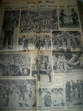 vintage newspaper collection 15 papers Royal interest, Apollo11 1930s 40s 50s