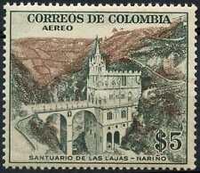 Colombia 1954 SG#803, 5p Sanctuary Of The Rocks MNH Cat £17 #D98760