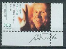 BRD Briefmarken 2000 Filmschauspieler G.Fröbe Ecke Mi.Nr.2147 ** postfrisch