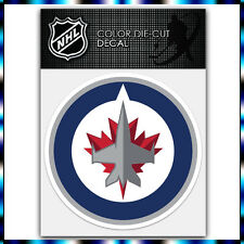 "Winnipeg Jets NHL Die Cut Vinyl Sticker Car Bumper Window 4""x4"""