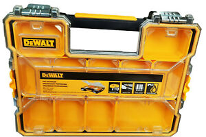 DeWalt Parts Pro Organiser  Tool Storage Case Screws Nails Depth 7.4cm