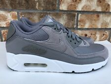 differently bd267 1c26a Men s Nike Air Max 90 Ultra 2.0 LTR Running Shoes Grey White Size 7 924447-