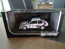 HPI-RACING 1/43 LANCIA DELTA S4 H. TOIVONEN WINNER MONTE CARLO 1986 N°966