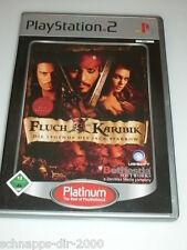 FLUCH DER KARIBIK DIE LEGENDE DES JACK SPARROW MIT ANLEITUNG PLAYSTATION 2 PS2