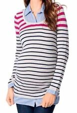 Career S Long Sleeve Regular Size Maternity Tops & Blouses