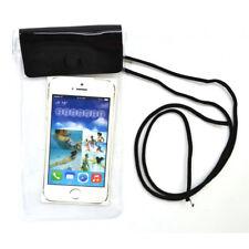 2x Smartphone Tasche Wasserdicht Brustbeutel Schutzfolie Berührungs-sensitiv