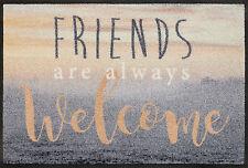 Fußmatte WMK wash + dry Design Welcome Friends 50 x 75 cm 088158