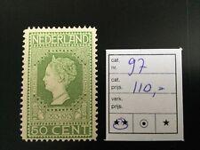 Nederland, 1913 Jubileum Serie, NVPH 97, Postfris, CW €110,00