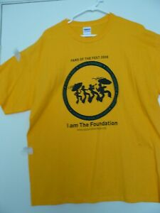 2008 NEW ORLEANS JAZZ  FESTIVAL(XL) T-SHIRT, 1-DAY CONFIRMED SHIP