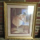 R. Tolan Framed Ballerina Print Vintage 18''x 24'' The Ashton Company
