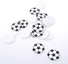 Streudeko - Fußball - Tischdekoration - 3 cm - 24 Stück - 56012