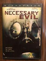 Necessary Evil (DVD, 2009) Danny Trejo Lance Henriksen Rare Horror OOP Pandemic